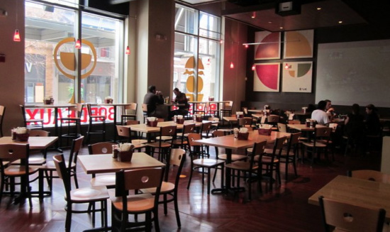 Pine Twenty 2 in downtown Orlando: Interior seating area (photo courtesy of Pine Twenty 2).
