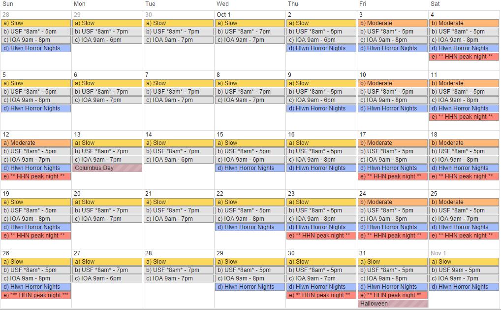 Universal crowd calendar search results calendar 2015 Busch gardens crowd calendar