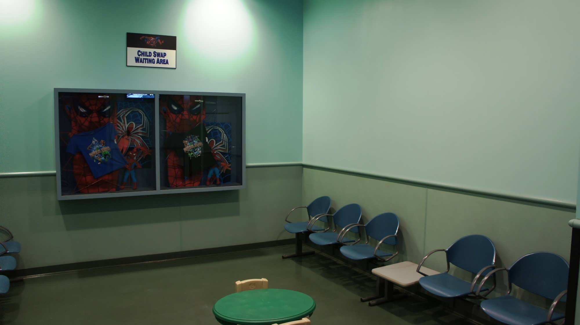 The Child Swap room at The Amazing Adventures of Spider-Man