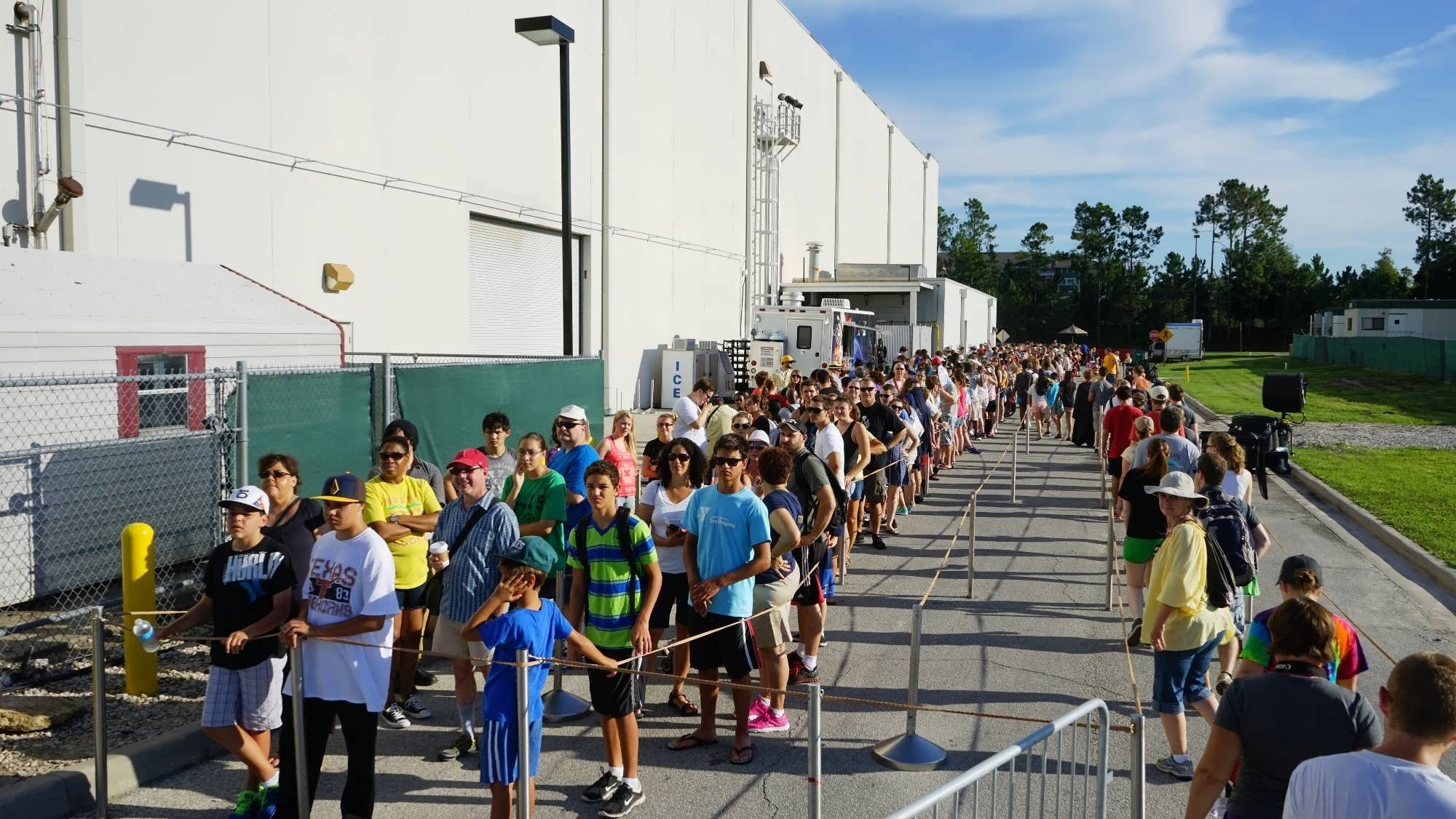 Diagon Alley extended standby line takes guests backstage