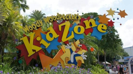 Woody Woodpecker's KidZone inside Universal Studios Florida.