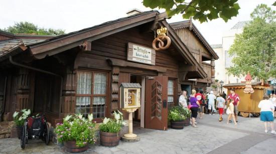 The School Bread experience at Epcot's Norway Pavilion: Kringla Bakeri og Kafe.