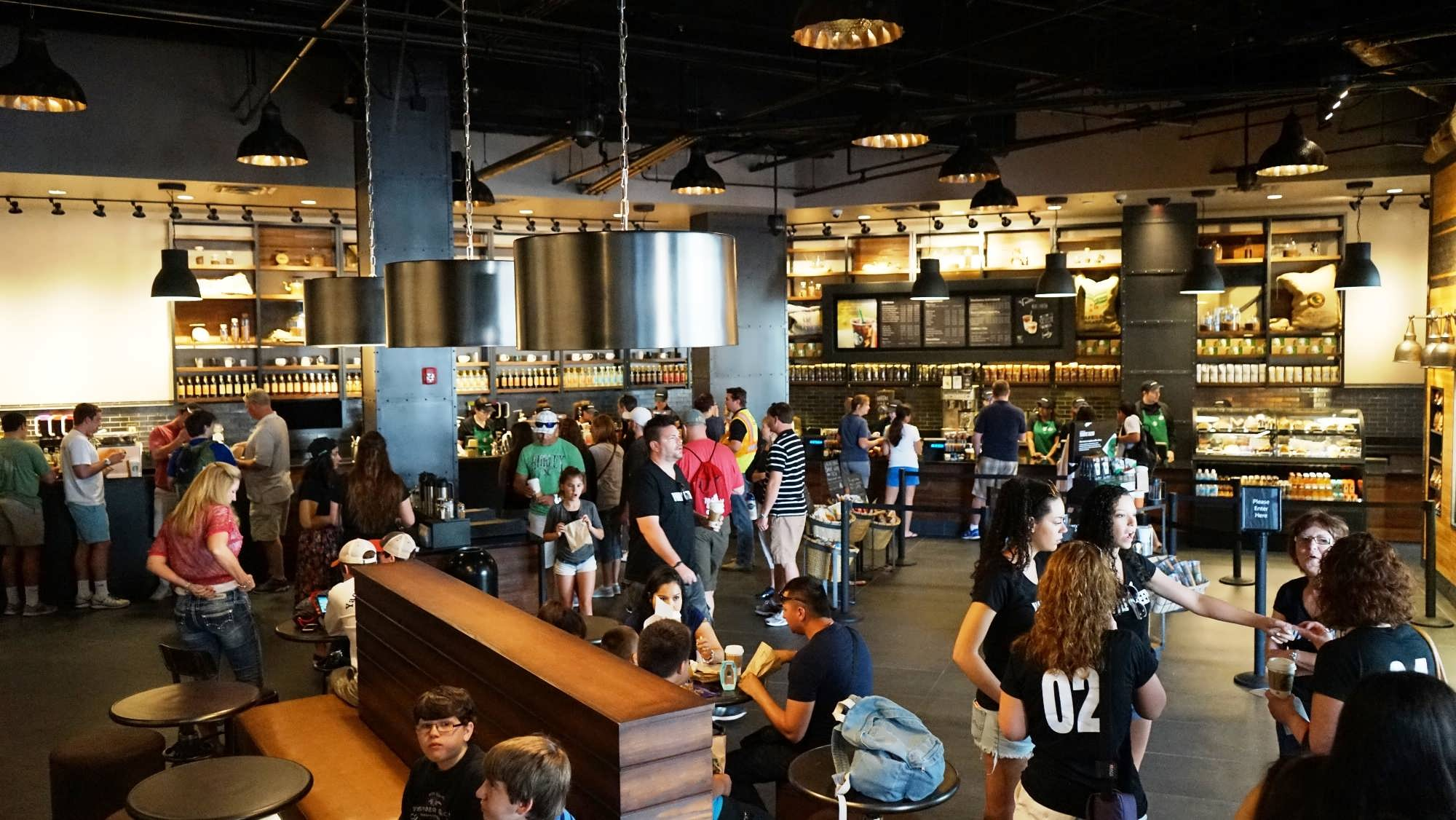 Starbucks in CityWalk