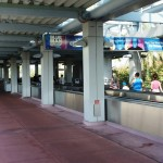 Universal Orlando's parking garages & transportation hub.