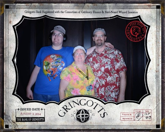 Escape from Gringotts photo