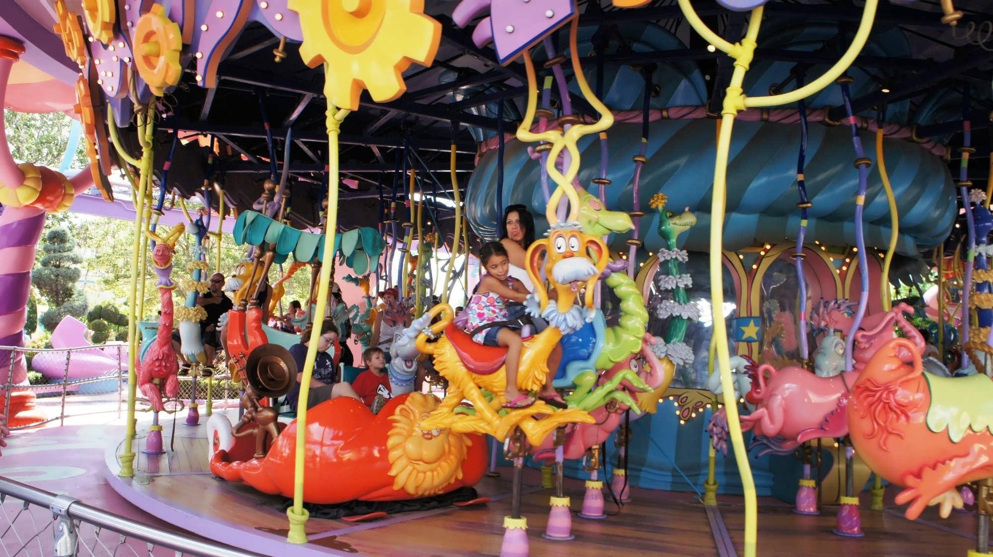 Caro-Seuss-el at Universal's Islands of Adventure
