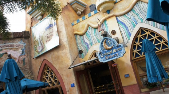 Croissant Moon Bakery at Universal's Islands of Adventure.