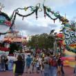 Walking around Seuss Landing's Grinchmas 2011.