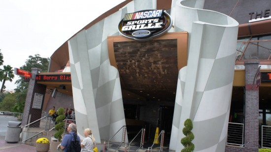 NASCAR Sports Grille at Universal Citywalk Orlando.