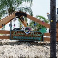 Lone Palm tiki bar at Margaritaville Cafe Orlando.