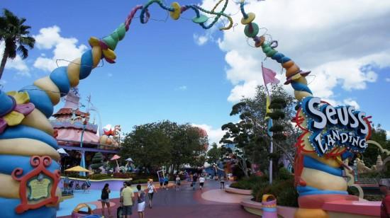 Seuss Landing at Universal's Islands of Adventure.