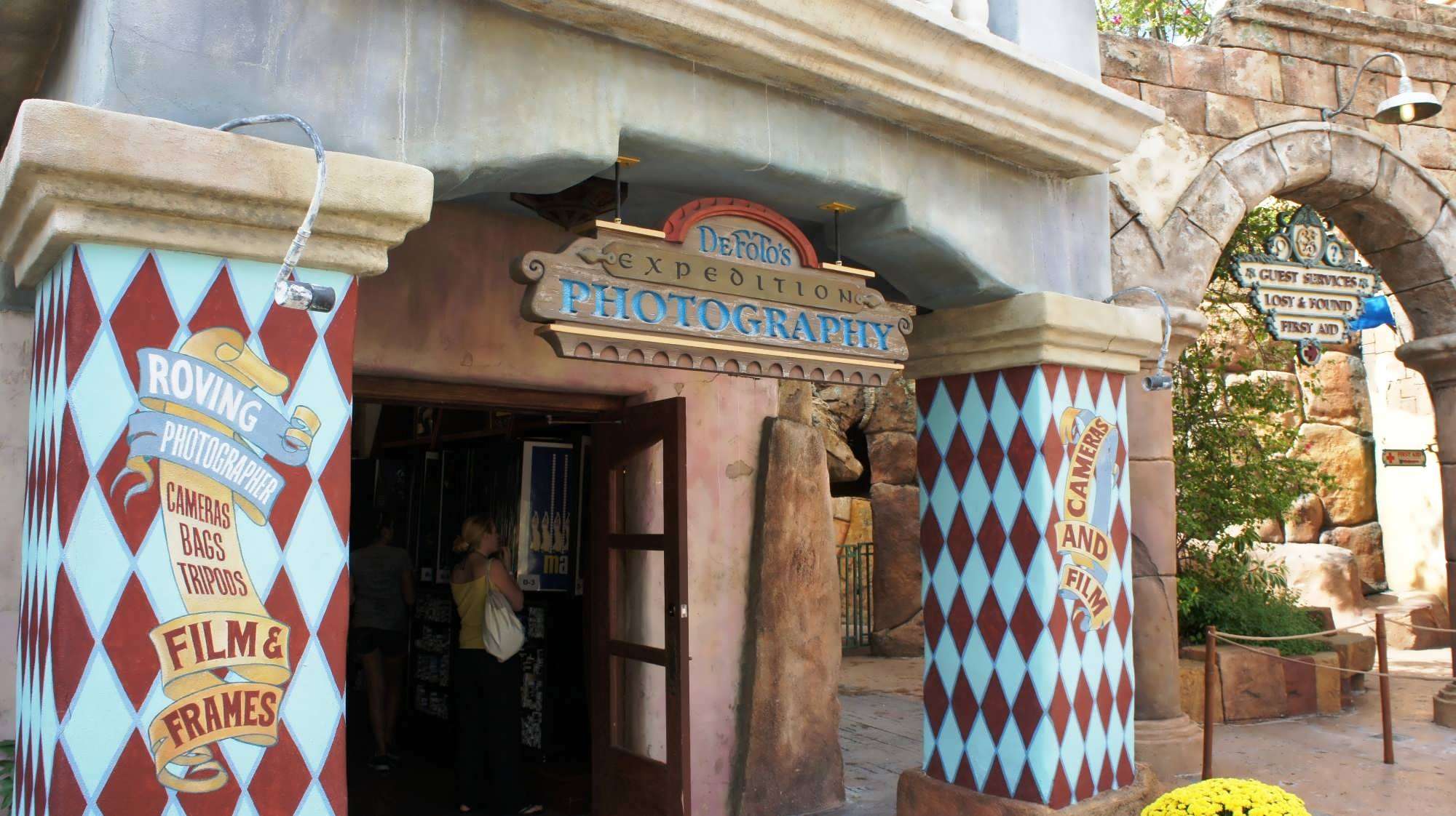 My Universal Photos store located at the front of Islands of Adventure