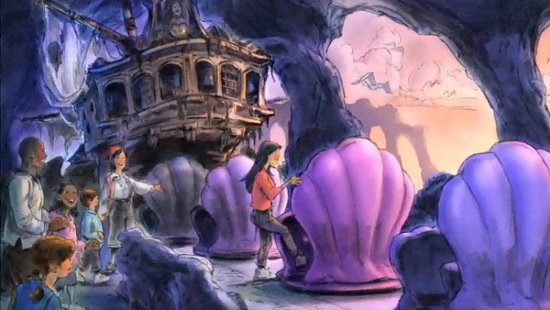Under the Sea - Journey of the Little Mermaid (courtesy of Disney Parks).