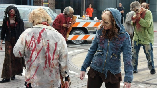 The Walking Dead at Halloween Horror Nights 2012.