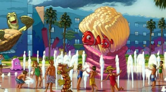 Disney's Art of Animation Resort rendering (courtesy of Disney World).