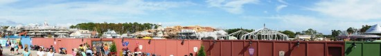 Magic Kingdom Fantasyland construction - December 2011.