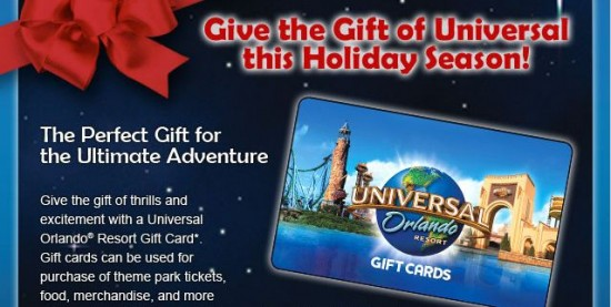 Why purchase a Universal Orlando gift card when you can win one ...