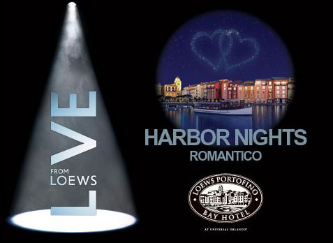 Harbor Nights Romantico at Portofino Bay Hotel.