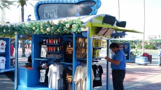 Saturday Night Live kiosk at Universal CityWalk.