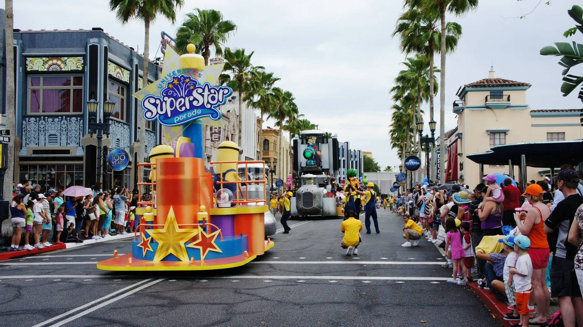 Universal's Superstar Parade at Universal Studios Florida