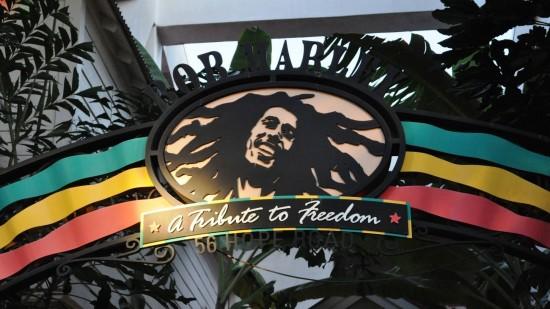 Bob Marley: A Tribute to Freedom at Universal CityWalk Orlando.