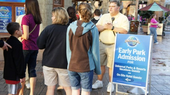 Early Park Admission to Universal's Wizarding World of Harry Potter.