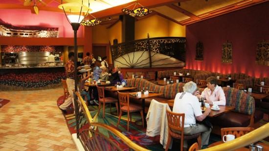 Kona Cafe at Disney's Polynesian Resort.