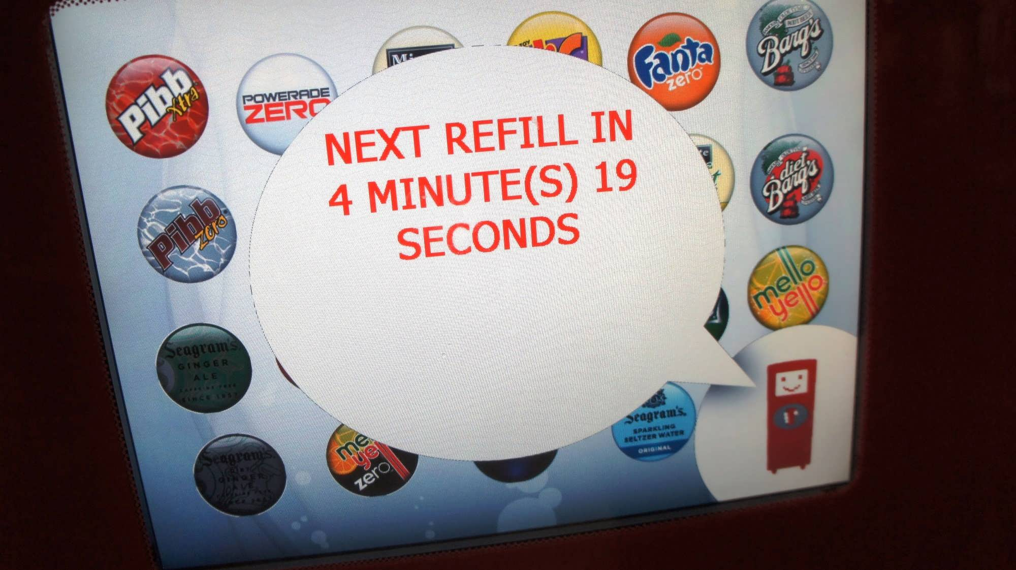 Coke Freestyle program at Universal Orlando