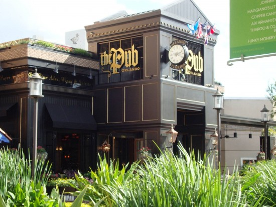 The Pub at Pointe Orlando.