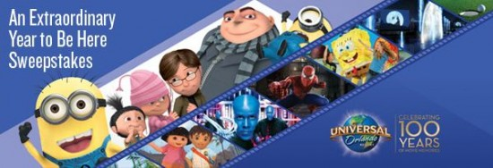 Universal Orlando - share your story and win.