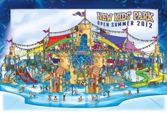 Wet 'n Wild Orlando's new Kids' Park - opening summer 2012.