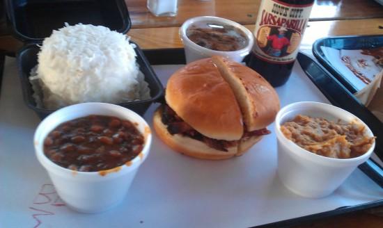 4 Rivers Smokehouse in Orlando, FL.