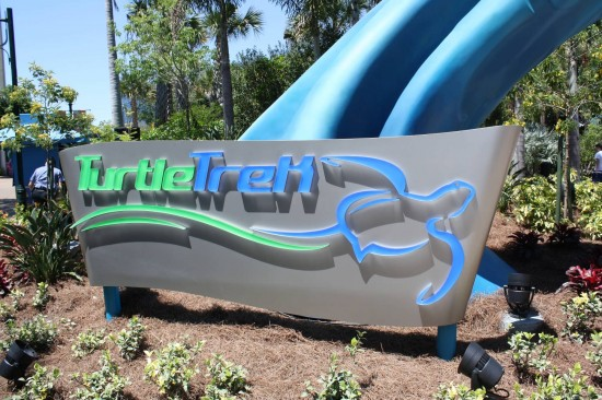 TurtleTrek at SeaWorld.