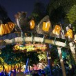 Universal's Islands of Adventure at night - March 31, 2012.