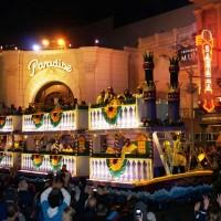 Mardi Gras 2013 parade at Universal Studios Florida.