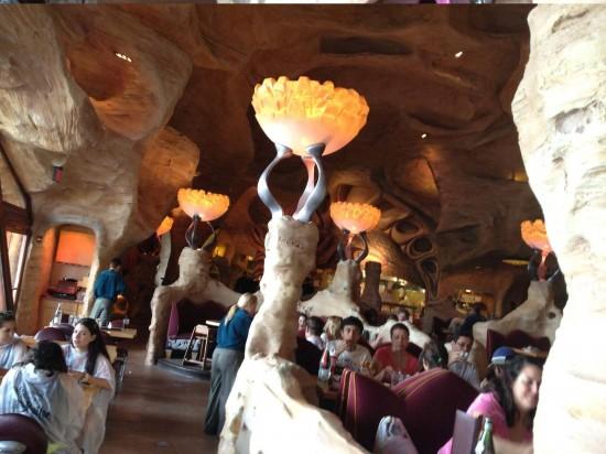 Mythos restaurant at Universal's Islands of Adventure.