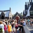 Spring Break crowds inside the Wizarding World of Harry Potter - April 2, 2012: For the love of butterbeer.