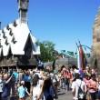 Spring Break crowds inside the Wizarding World of Harry Potter - April 2, 2012.