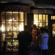 The Wizard World of Harry Potter at night - March 31, 2012.