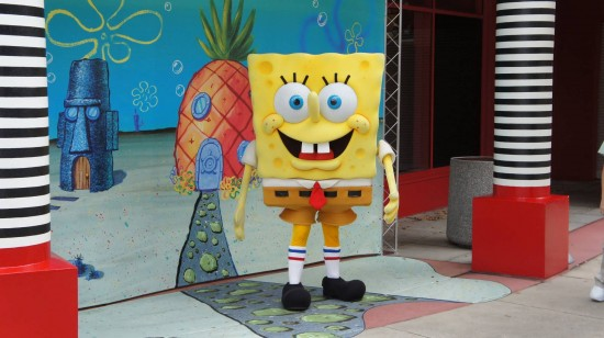 Nickelodeon's SpongeBob SquarePants at Universal Studios Florida.