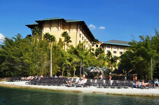 Finding relaxation in the city of excitement: Royal Pacific Resort at Universal Orlando.