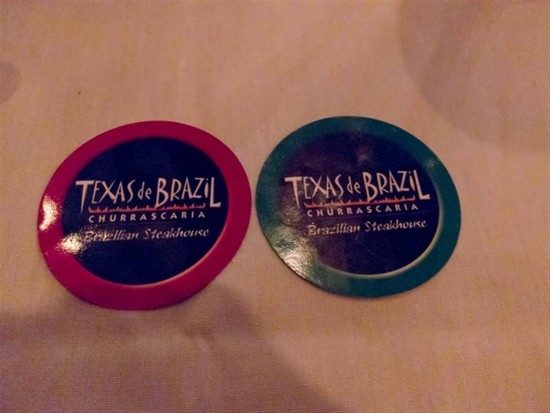 Texas de Brazil on International Drive.