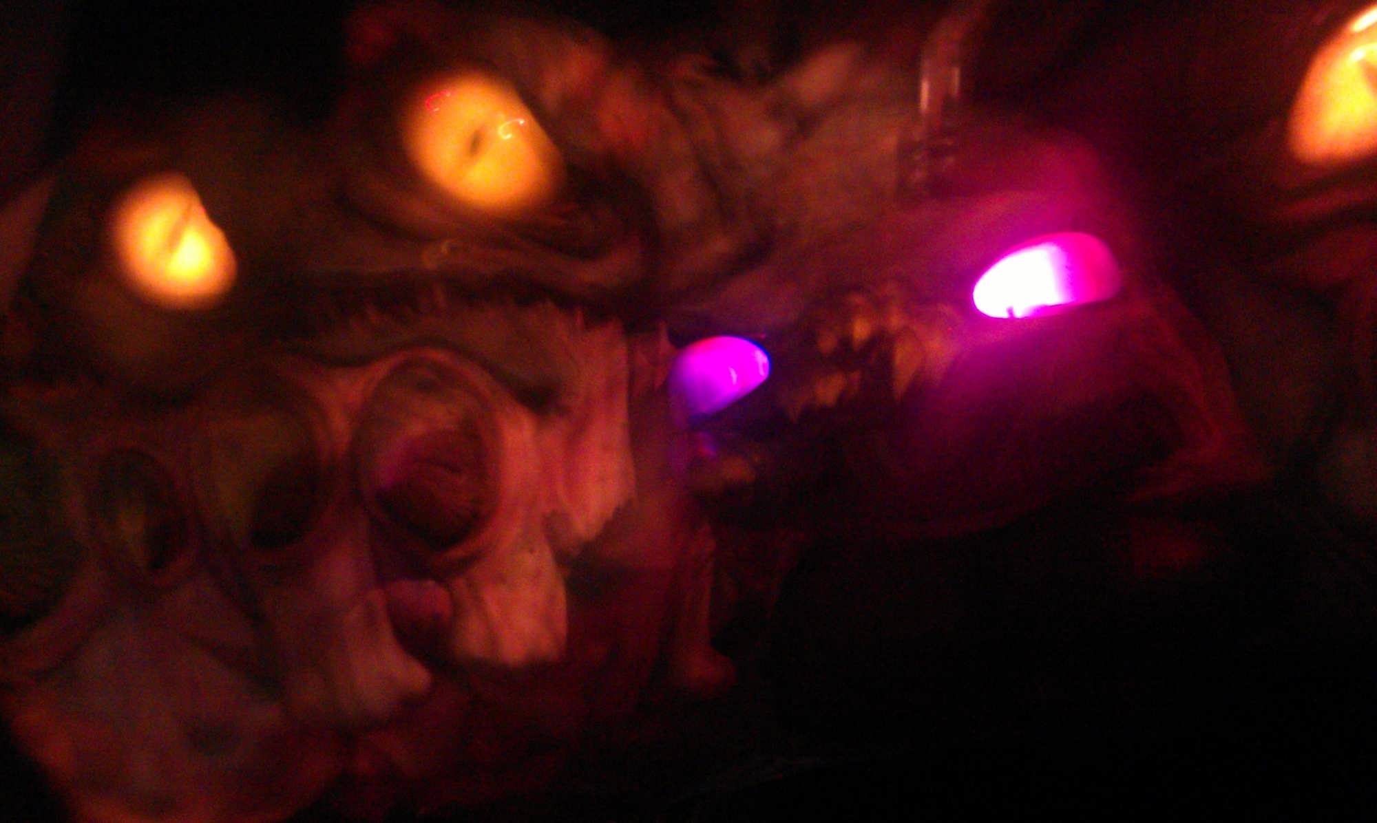 Final large alien in MEN IN BLACK Alien Attack at Universal Studios Florida