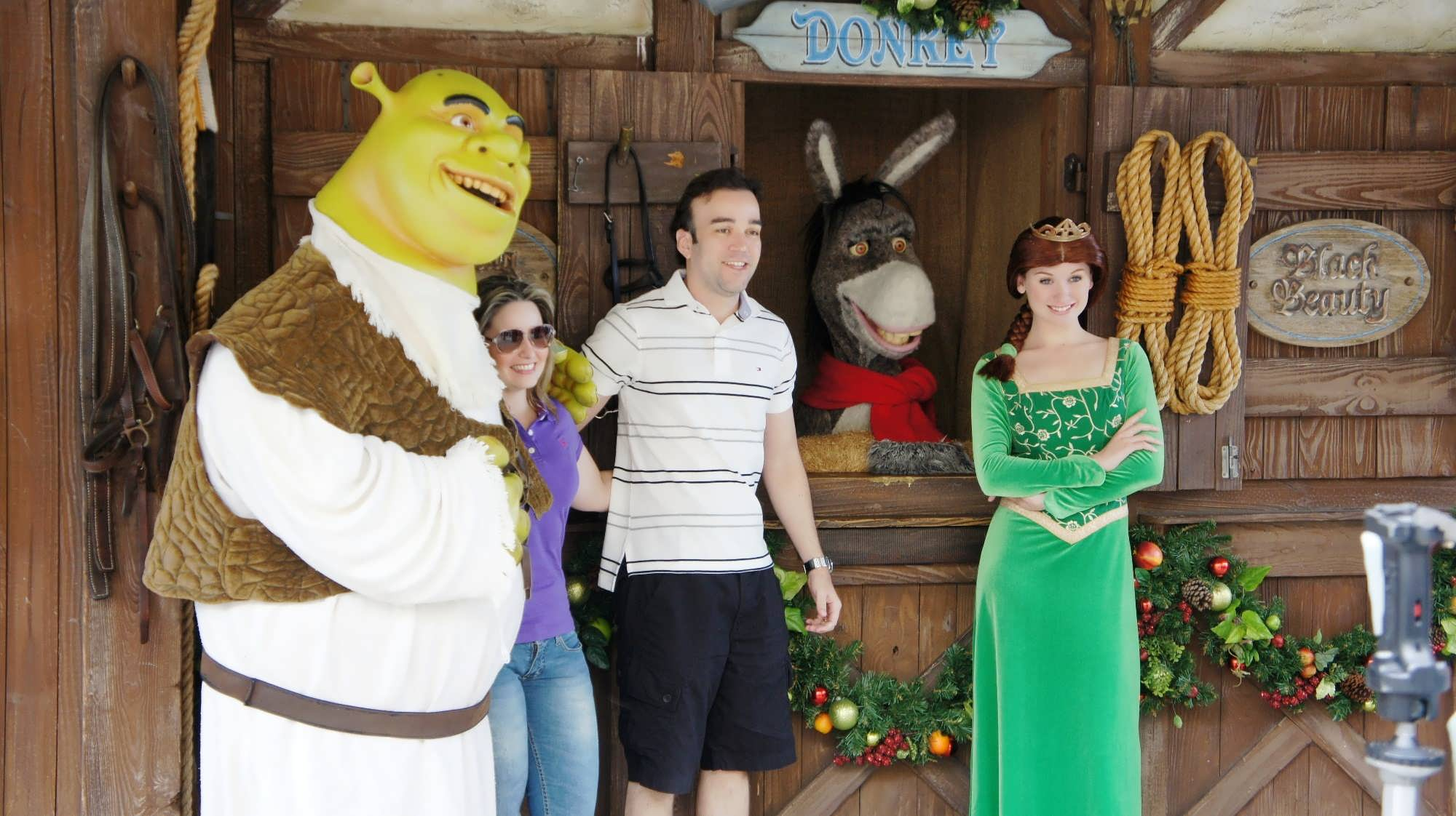 Meet the Shrek family at Universal Studios Florida.