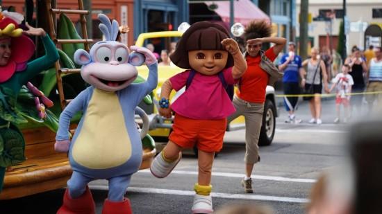 Superstar Parade at Universal Studios Florida.