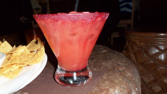 Blood Orange Margarita from La Cava del Tequila.