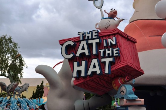 Entrance to The Cat in the Hat.
