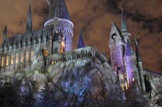 Hogwarts Castle at Universal's Wizarding World of Harry Potter.