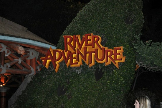 Entrance to Jurassic Park River Adventure.