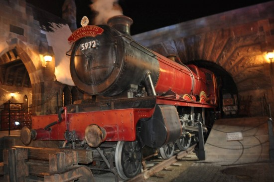 Hogwarts Express at Universal's Islands of Adventure.